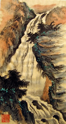 Landscape with Waterfall # 31