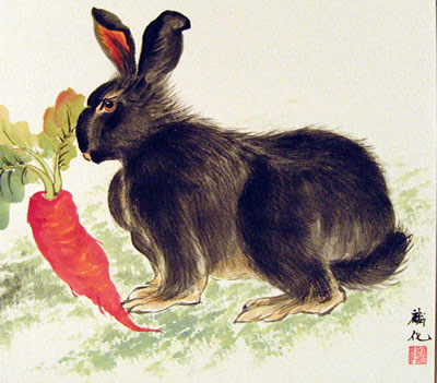 Rabbit & Carrot