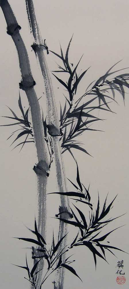 Chinese Bamboo Paintings